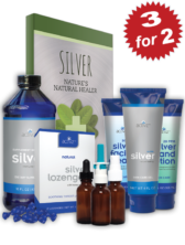 3 for 2 Activz Ultimate Silver Starter Kit