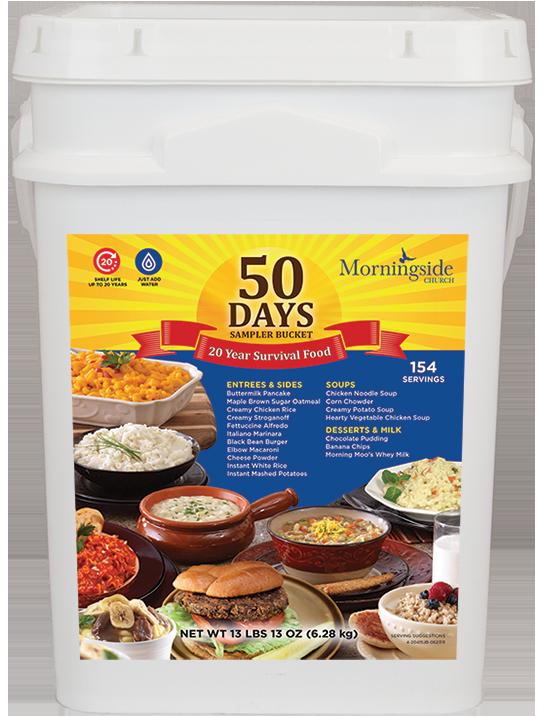 50 Day Sampler Bucket
