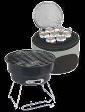 BBQ Grill & Cooler Bag Set