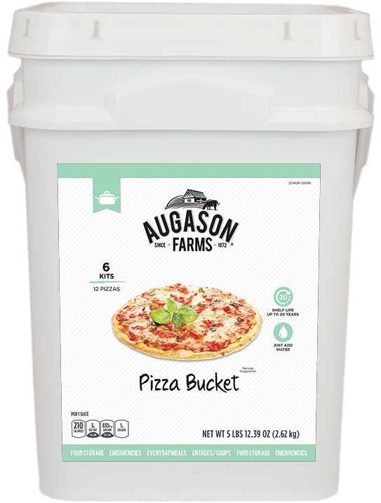 Augason Farms® Pizza Bucket (4 Gallon)