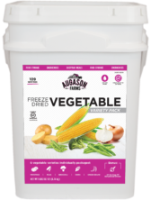 Vegetable Variety Bucket