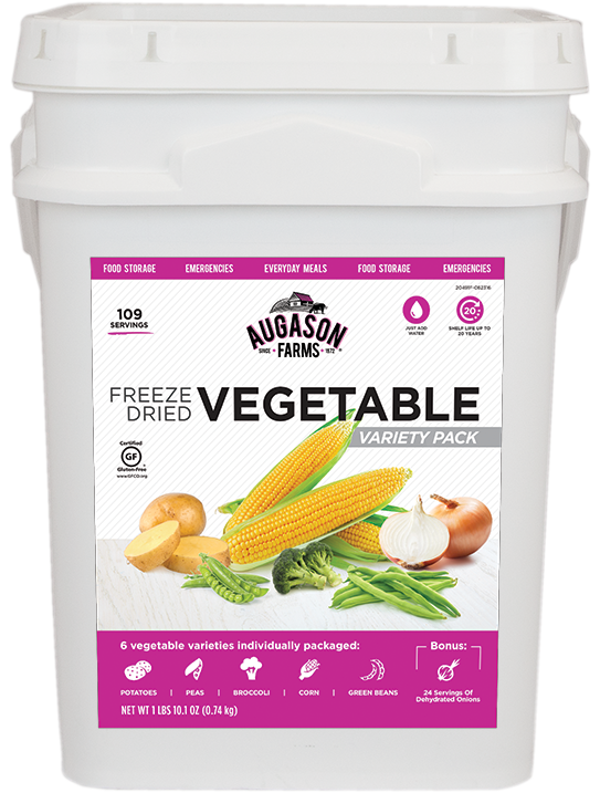 Augason Farms Vegetable Variety Bucket