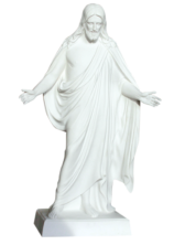 The Resurrected Christ Statue