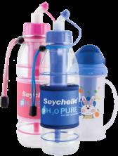 4 - pH2O Sport Bottles