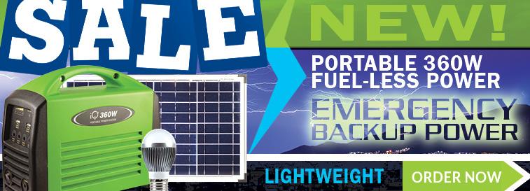 Portable Fuel-Less Generator