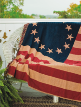 Old Glory Throw