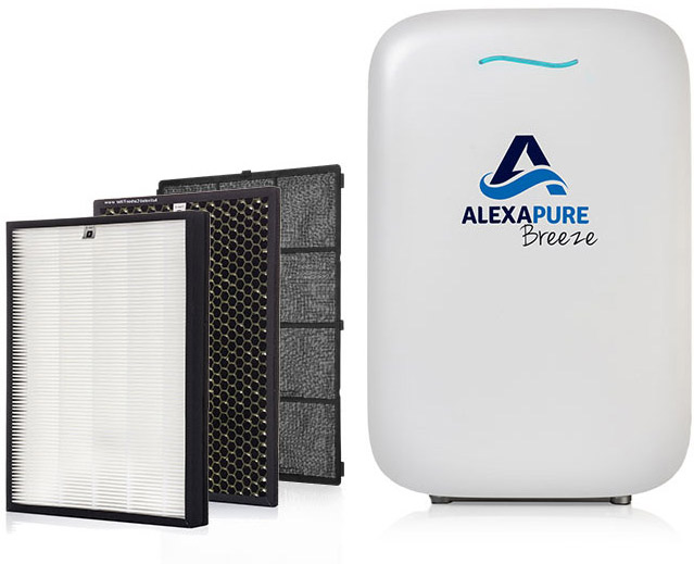 AlexaPure Breeze with 4 stage purification Available NOW