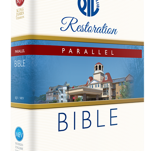 Limited Edition PTL Restoration Parallel Bible