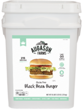 Augason Farms Gluten-Free Black Bean Burger Bucket