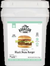 Augason Farms Gluten-Free Black Bean Burger Bucket