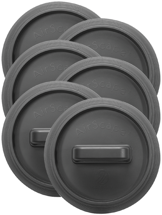 6 - AirScape Bucket Lids