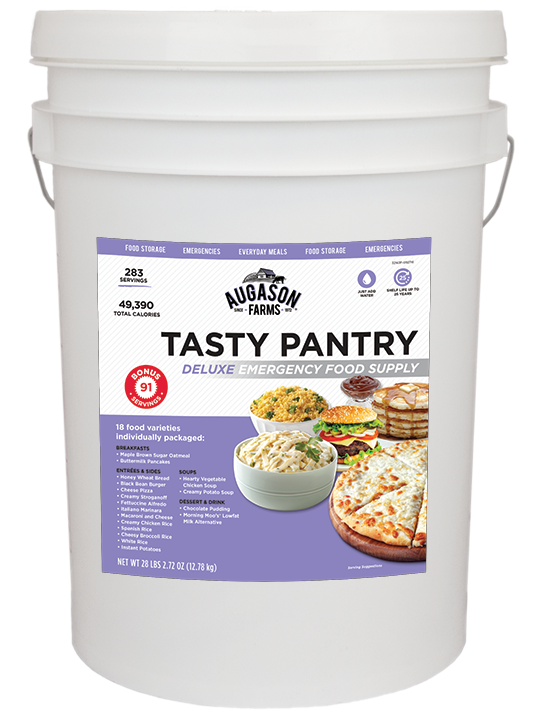 Augason Farms® Tasty Pantry Deluxe Plus Bucket