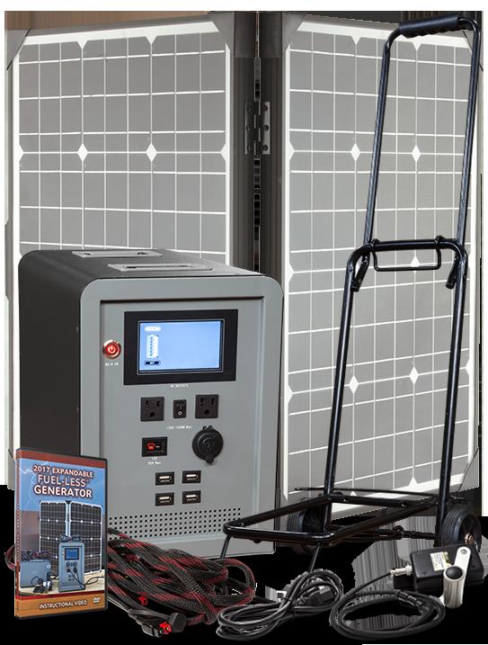 Expandable FUEL-LESS™ Generator Base Kit