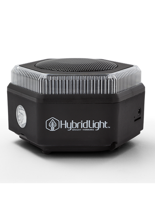 HybridLight™ HEX Bluetooth Speaker