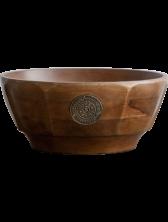 Dayspring Korie Robertson - Salt & Light Wooden Serving Bowl
