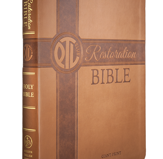 Limited Edition PTL Restoration Bible