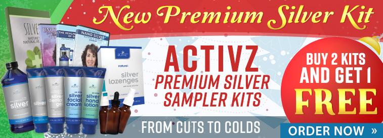 Activz Premium Silver Sampler Kit - Order Now