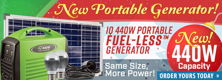 Portable Power Generator - Order Today