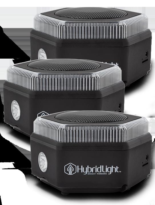3 - Hex Bluetooth Speakers