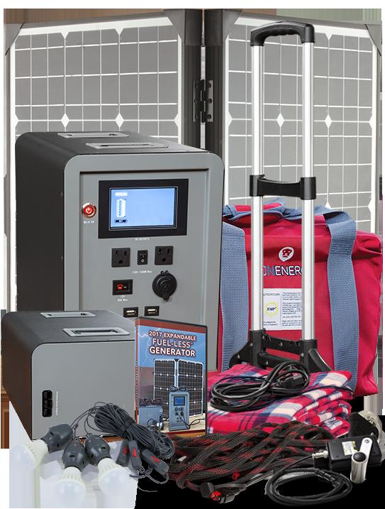 Expandable FUEL-LESS™ Generator Complete Kit