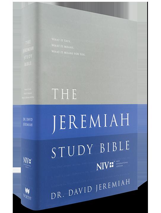NIV Hardcover The Jeremiah Study Bible