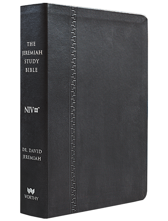 NIV The Jeremiah Study Bible (Black)