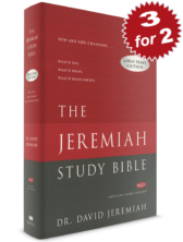 3 for 2 NKJV Hardcover The Jeremiah Study Bible (Large Print)