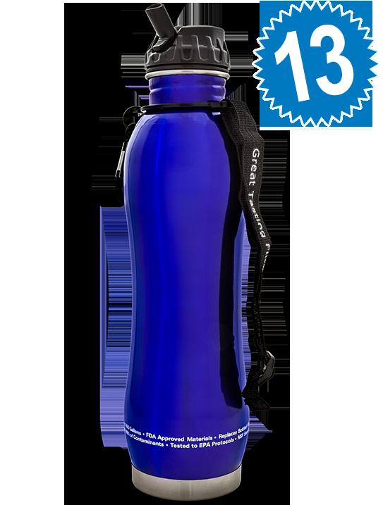 Bakker's Dozen pH2O Stainless Steel Bottles