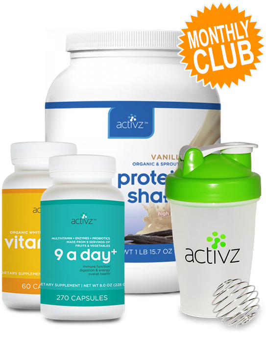 9 A Day+ Wellness Monthly Club (Vanilla)