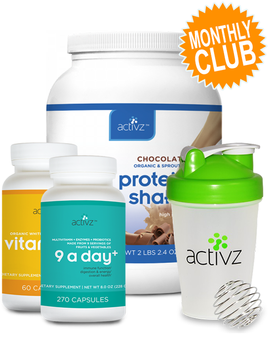 Activz™ 9 A Day+ Wellness Monthly Club (Chocolate)