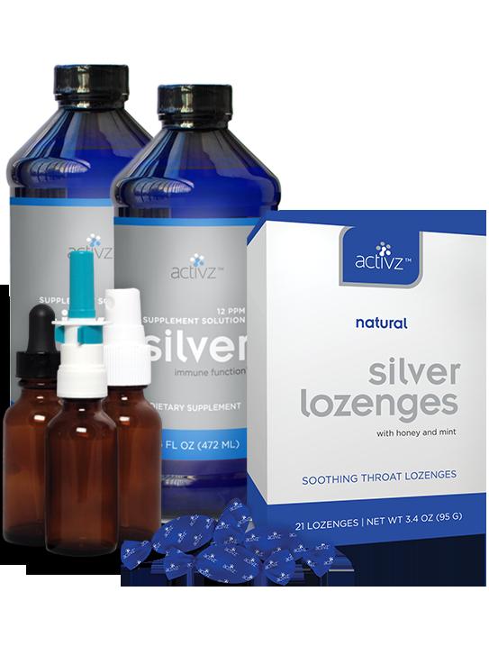 Activz Silver Liquid & Applicators