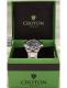 Croton Men's Watch (Black) Gift Box