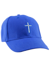 Cross Hat (Royal Blue)