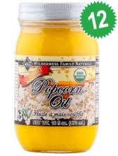 Case of 12 - Coconut Popcorn Oil