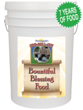 Time of Trouble Bountiful Blessing Bucket