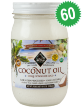 5 Cases - Coconut Oil - Cold Pressed