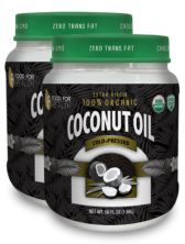2 - Jumbo Coconut Oil - Cold Pressed