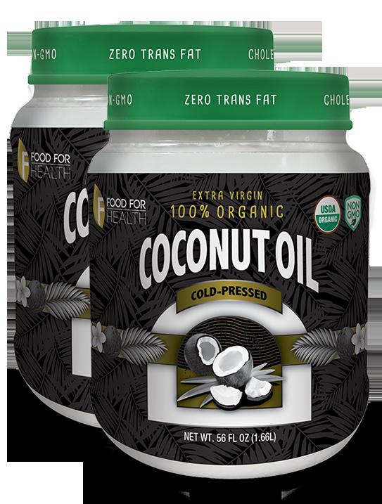 2 - Jumbo Coconut Oil - Cold Pressed