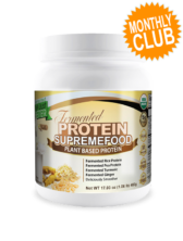 Divine Health® Fermented Protein Supremefood Monthly Club