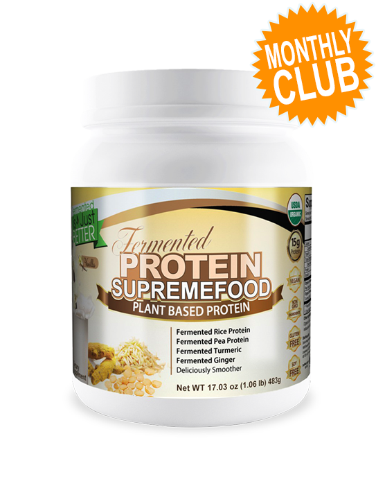 Fermented Protein Supremefood Monthly Club