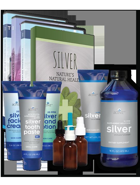 Activz™ Deluxe Silver Sampler Kit