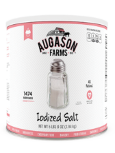 Augason Farms® Iodized Salt Can