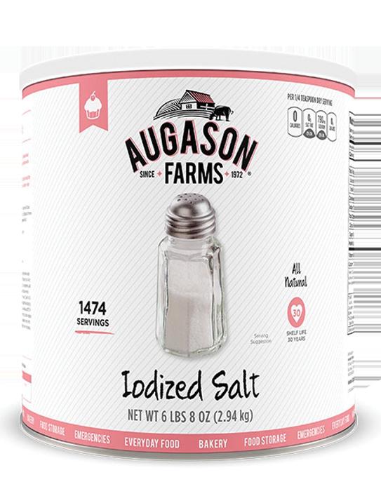 Augason Farms® Iodized Salt Can
