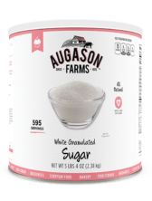 Augason Farms® White Granulated Sugar Can