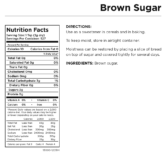 Brown Sugar Can Nutritional Facts