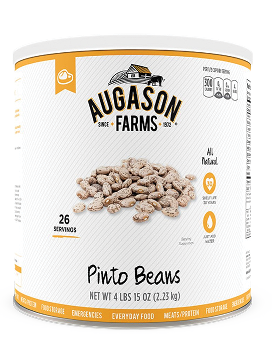 Dried Pinto Beans Can