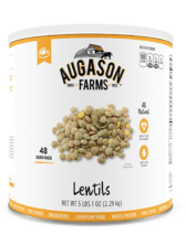 Augason Farms® Lentils Can