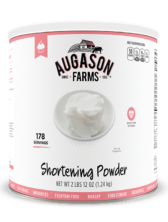 Augason Farms® Shortening Powder Can