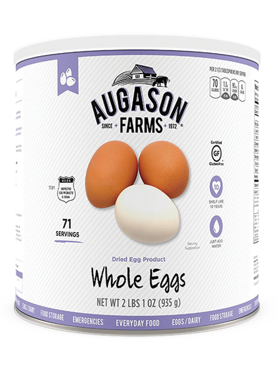 Augason Farms® Dried Whole Eggs Can