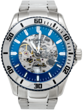 Stuhrling Original Men's Regatta Antilles Watch (Blue)